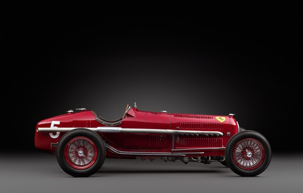 Picture Spokes, Alfa Romeo, Classic, Scuderia Ferrari, 1932, Grand Prix, Classic car, Sports car, Alfa Romeo ...