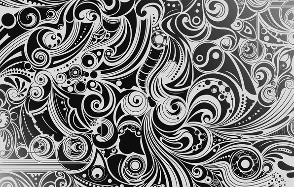 Picture white, background, pattern, black, figure, vector, texture, form