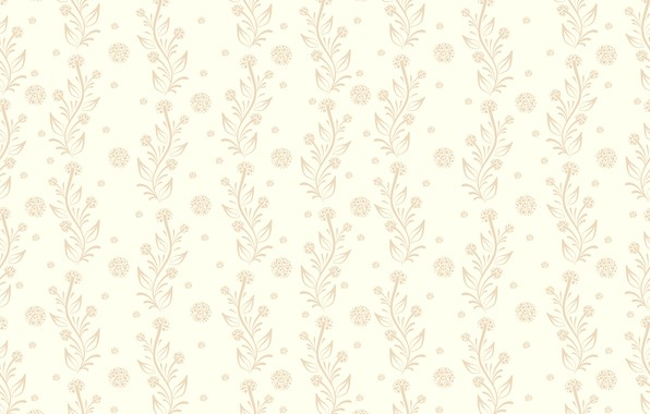 Picture flowers, background, Wallpaper, vintage, floral, seamless