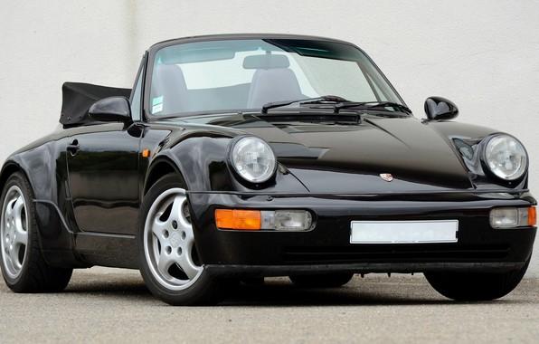 Picture 911, Porsche, Carrera, Turbo, 1990, Cabriolet, 2