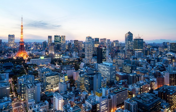 Picture Tokyo, Tokyo Prefecture, Hamamatsucho 2 Chome