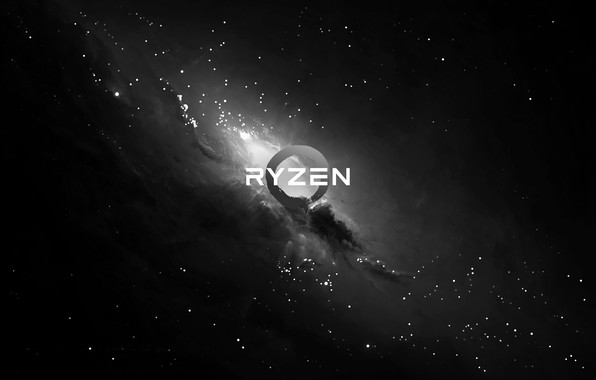 Picture background, AMD, dark, Corn, Ryazan, Ryzen, RYZEN, Ryazhenka