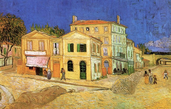 Picture House, Vincent van Gogh, Vincent s House, in Arles The Yellow