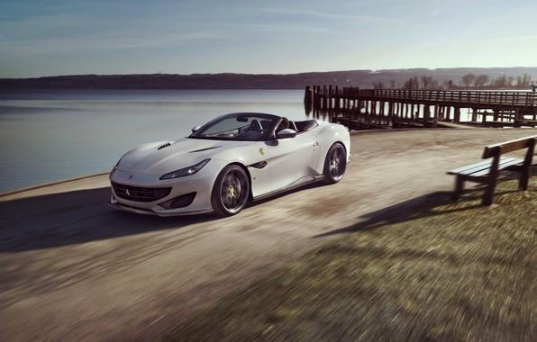 Picture machine, movement, Ferrari, Portofino, Novitec