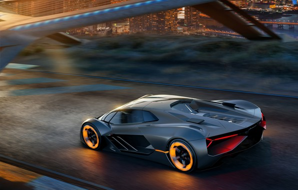 Picture Concept, Lamborghini, supercar, The Third Millennium