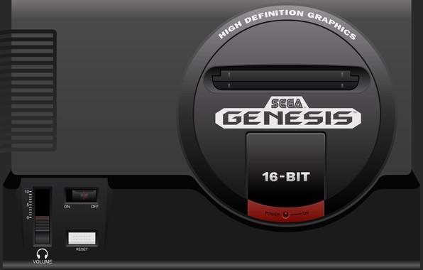Picture sega, 16 bit, Sega, genesis, game console, game console, 16-bit