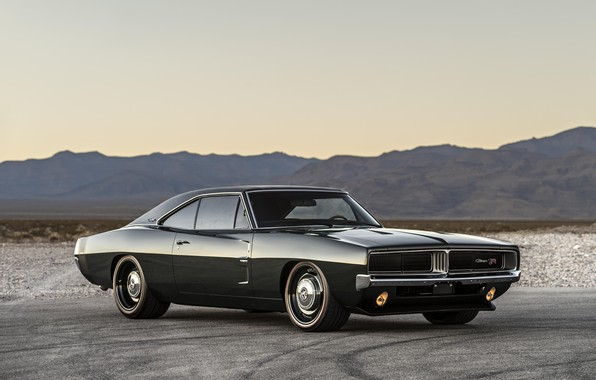 Picture Dodge, Classic, Charger, Muscle car, Hemi, Vehicle