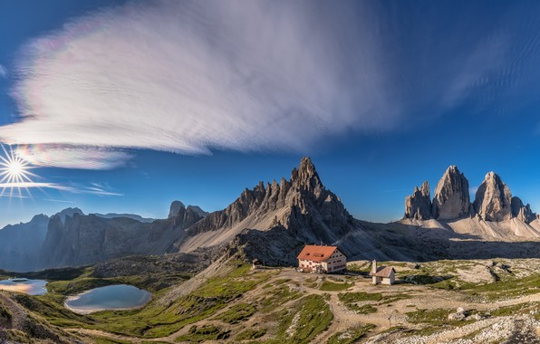 Picture Italy, The Dolomites, Paterno