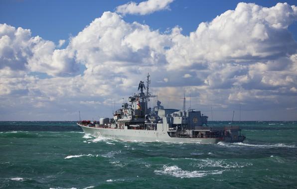 Picture Ships, Ukraine, Navy, Ukrainian Navy, Hetman Sahaidachny, F130, The Ukrainian Navy