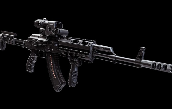 Picture rendering, weapons, tuning, machine, gun, weapon, render, custom, Kalashnikov, Custom, AKM, Kalash, AKM, assault rifle, …