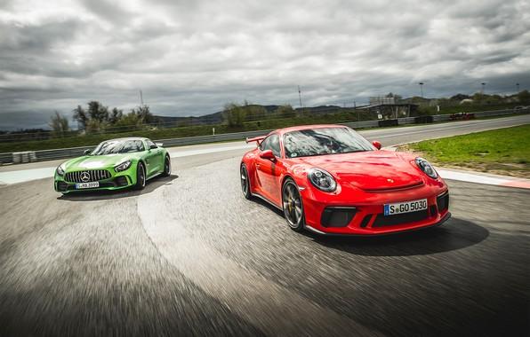 Picture 911, Porsche, Mercedes, AMG, GT3, GT R