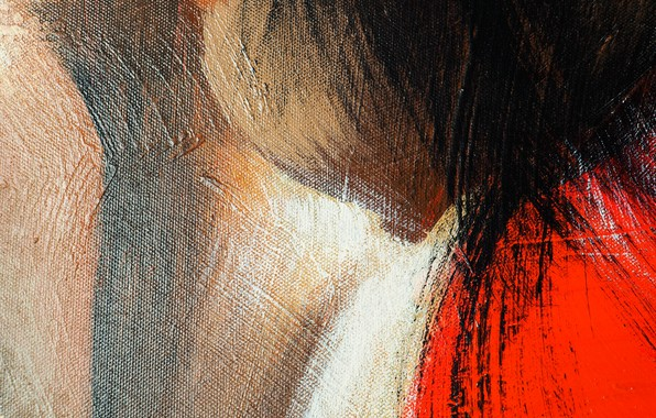 Picture paint, texture, canvas, strokes