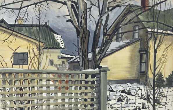 Picture 1935, Charles Ephraim Burchfield, Evening-Early Winter