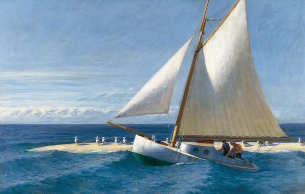 Picture 1944, Edward Hopper, The Martha McKeen of Wellfleet