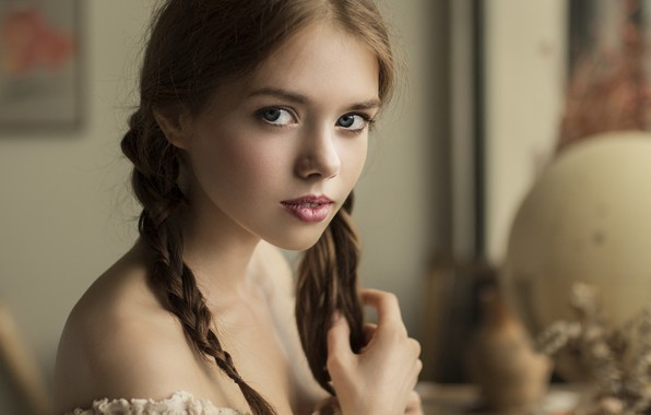 Picture look, girl, braids, Lolita, Vyacheslav Shcherbakov