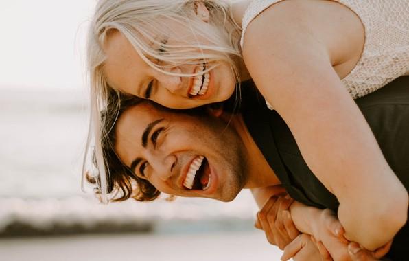 Picture girl, happy, woman, photo, man, boy, mood, couple, bokeh, blonde, smiling, portrait, close up, depth …