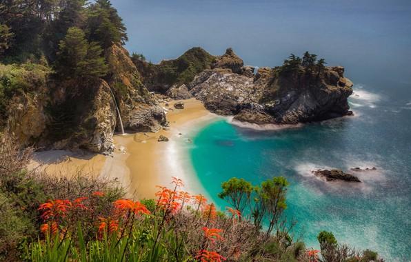 Picture Sea, Rocks, Beauty, Landscape