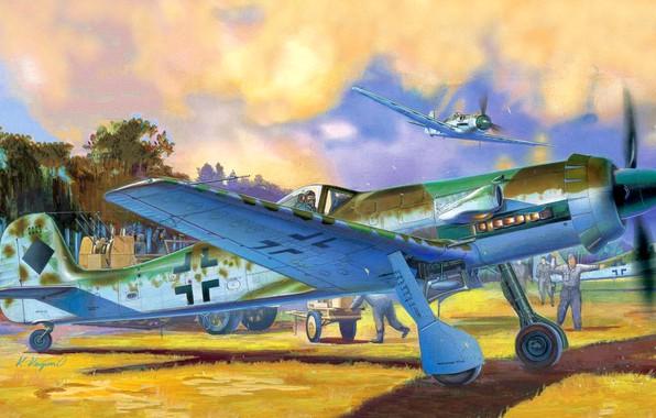 Picture fighter, Air force, Focke-Wulf Ta 152, High-altitude interceptor, Ta.152H, JG301