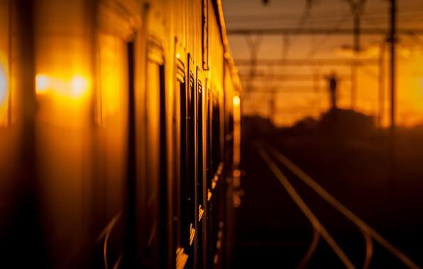 Picture background, train, railroad