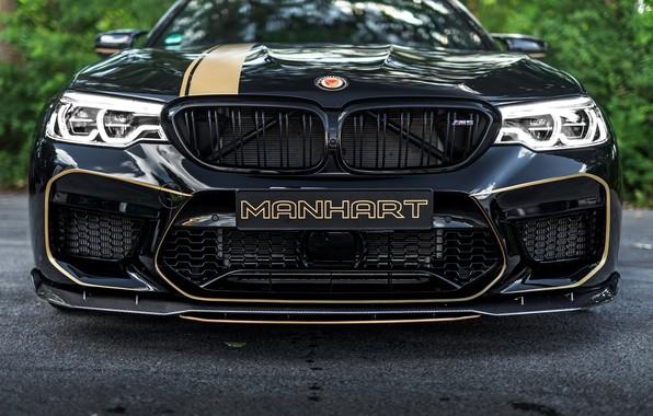 Picture BMW, sedan, the front, 2018, Biturbo, BMW M5, Manhart, M5, V8, F90, 4.4 L., 723 …