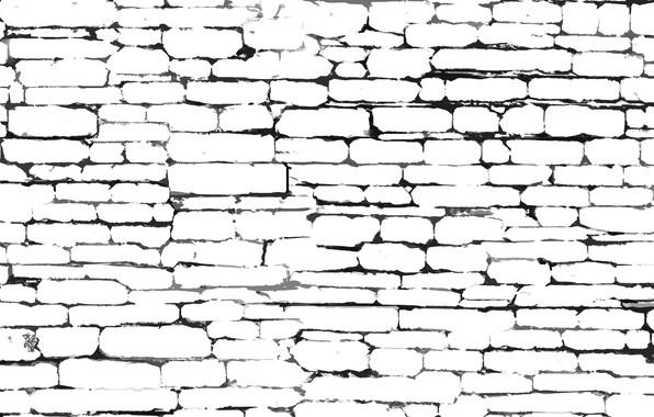 Picture texture walls, brick wall, wallline