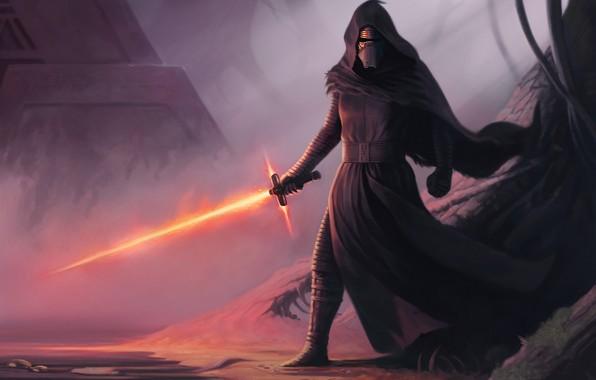 Picture Star Wars, Sword, Art, Sith, Kylo Ren, by Dean Spencer, Dean Spencer, Forbidden Knowledge
