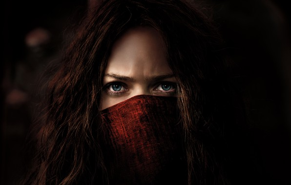 Picture Girl, Action, Red, Fantasy, Blue, Warrior, Female, Eyes, year, 2018, Women, Game, Woman, Valentine, Mortal, …
