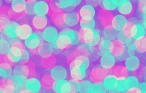 Picture lights, background, pink, blue, blue, pink, background, neon, bokeh, bokeh