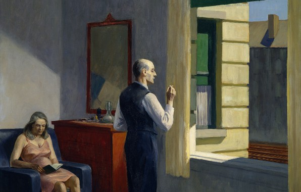 Picture 1952, Edward Hopper, Hotel By A Railroad