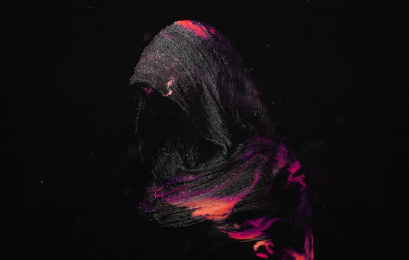 Picture Minimalism, Background, Fabric, Hood, Art, Concept Art, Hani Jamal, by Hani Jamal, Nights in Bloom
