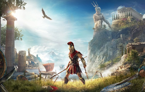 Picture game, Ubisoft, Assassin's Creed, Odyssey, E3 2018, Assassin's Creed Odyssey
