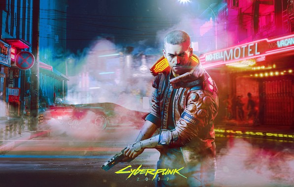 Picture game, Cyberpunk 2077, Cyberpunk 2077, CD PROJEKT RED, CD Project Red