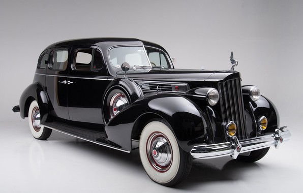 Picture Old, Vintage, Packard, Luxury, Vehicle, Super Eight