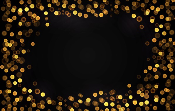 Picture background, golden, gold, gold, new year, background, bokeh, bokeh, celebration, sparkle