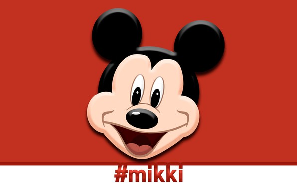 Picture Wallpaper, minimalism, widescreen, toon, full screen, on the desktop, full HD, mouse, new, Mickey, mouse, …