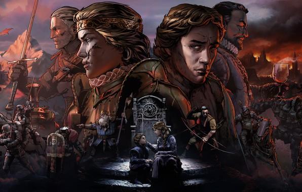 Picture war, Geralt, Geralt, Gwent, Quint, Blood feud: the Witcher. History, Queen MEVA, Thronebreaker: The Witcher …