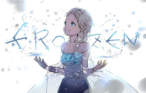 Picture frozen, anmi, dress elsa
