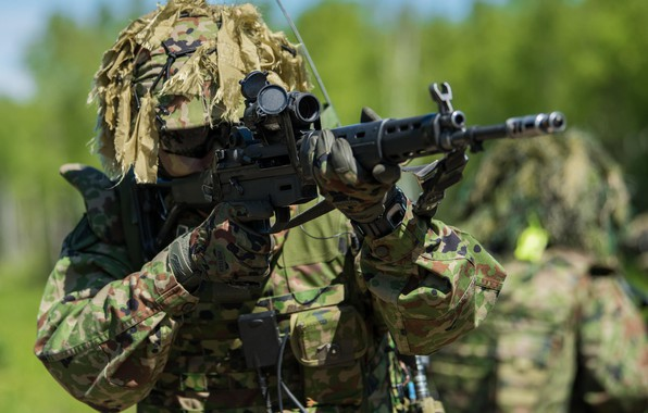 Picture WEAPONS, SOLDIERS, ARMY, Japan Ground Self-Defence Force