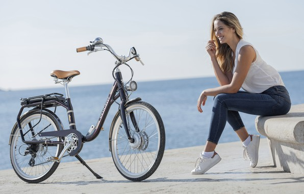 Picture Peugeot, Peugeot, electric bike, electric bike, eBike, classic city bike, Peugeot E-Legend, Peugeot eLC01