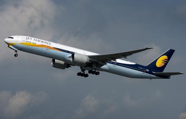 Picture Boeing, 777-300ER, Jet Airways