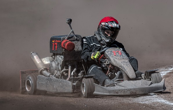 Picture race, sport, karting