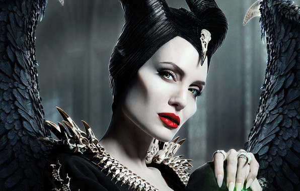 Picture fairy, Angelina Jolie, Angelina Jolie, fantasy, poster, Maleficent, Maleficent: Mistress of Evil, Maleficent: mistress of …