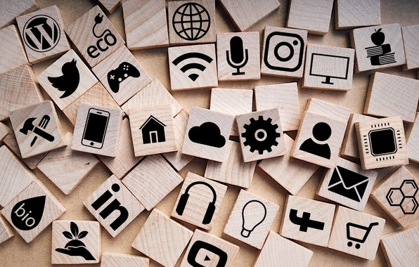 Picture squares, icons, social network
