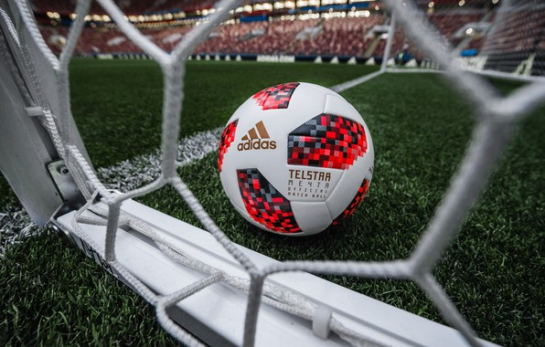 Photo Wallpaper The Ball Sport Gate Football Russia Adidas