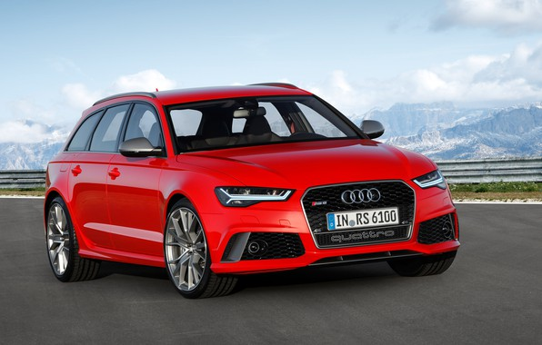 Picture red, metallic, universal, RS6 Auant