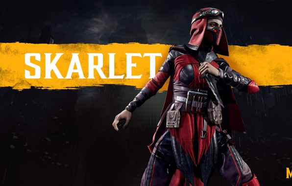 Picture The game, Fighter, Art, Mortal Kombat, Mortal Kombat, Scarlet, Character, Skarlet, Mortal Kombat 11, Mortal ...