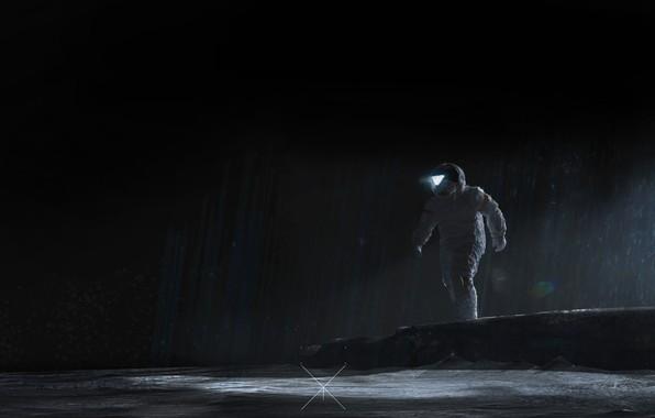 Picture figure, The suit, People, Astronaut, Astronaut, Art, Fiction, Space Journey, by Ramazan Kazaliev, Ramazan Kazaliev