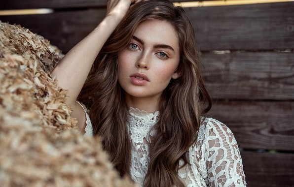 Picture look, girl, face, photo, blouse, Lani Baker