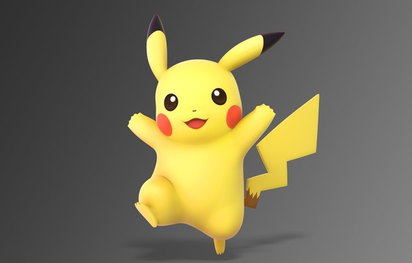 Picture Pikachu, electric, pokemon, pokemon, Pikachu