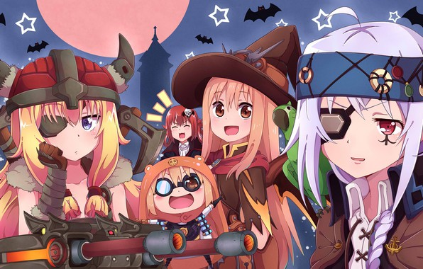 Wallpaper Night Children Anime Art Costumes Halloween Images